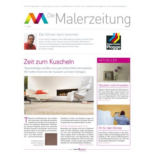 MEGA Malerzeitung 1/2017