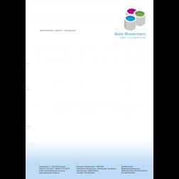 MEGA - Briefbogen02 - 1stg - 4/0fbg - Farbeimer