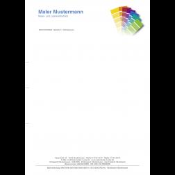 MEGA - Briefbogen04 - 1stg - 4/0fbg - Farbfächer
