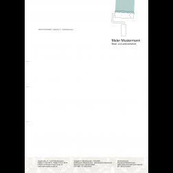 MEGA - Briefbogen06 - 1stg - 4/0fbg - Malern