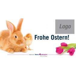 "Etiketten ""Frohe Ostern"""