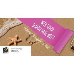 MEGA Urlaubs-Postkarte