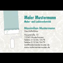 Visitenkarte Malern 1stg. quer