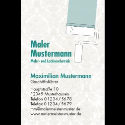 Visitenkarte Malern 1stg. hoch
