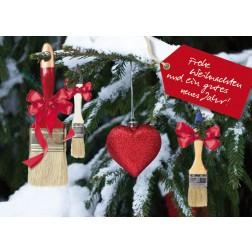 Postkarte Weihnachten & Neujahr - Motiv 2