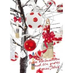 Postkarte Weihnachten & Neujahr - Motiv 3