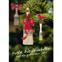 Postkarte Weihnachten & Neujahr - Motiv 4