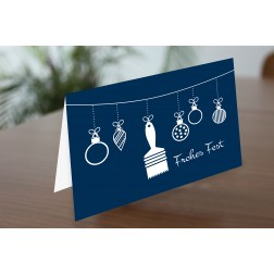 MEGA 09 Weihnachtskarte DINA6 - 4 Seiten