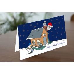 MEGA 03 Weihnachtskarte DINA6 - 4 Seiten